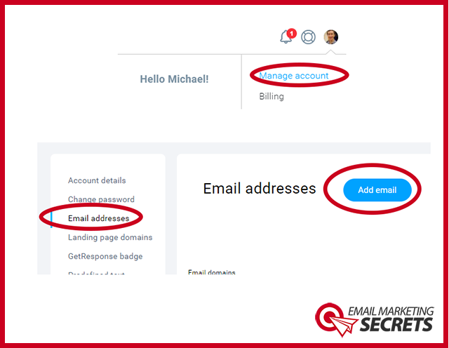 Connect Your Email to Getresponse