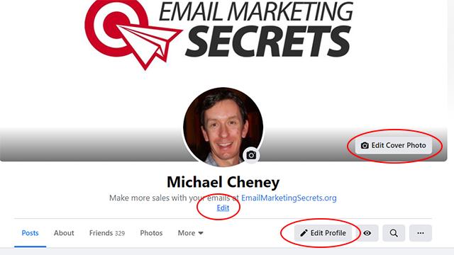 Edit Your Facebook Profile