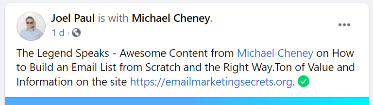 Awesome Content Including How to Build an Email List from Scratch