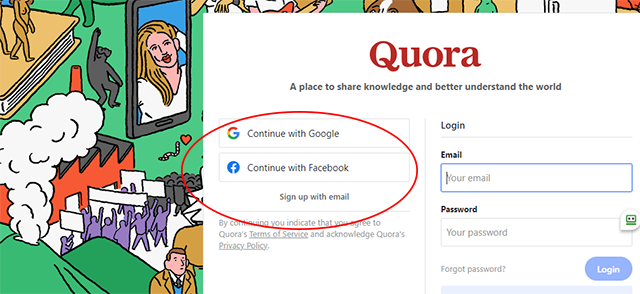 Build an Email List Using Quora