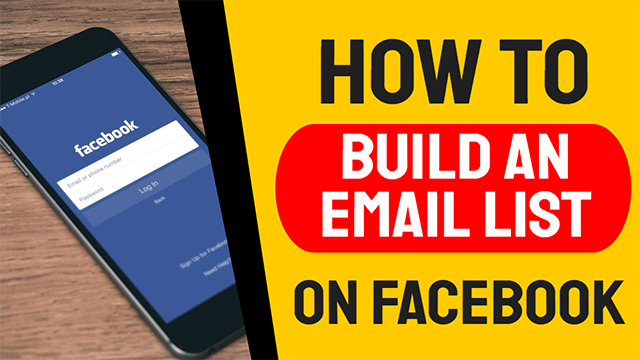 How To Build a List on Facebook
