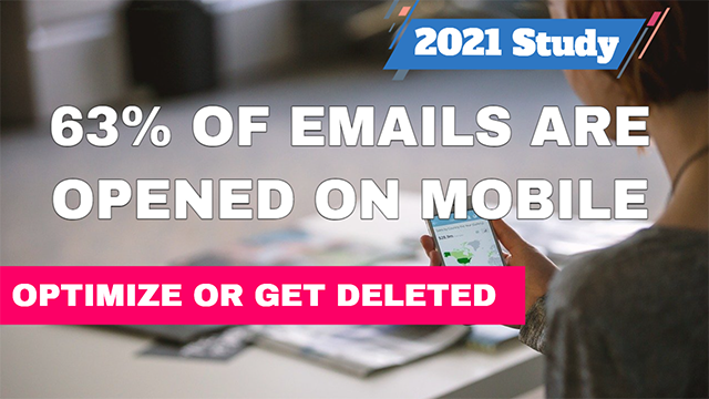 Emails Opened on Mobile