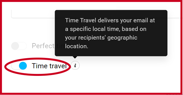 Send an Email with Time Travel on Getresponse
