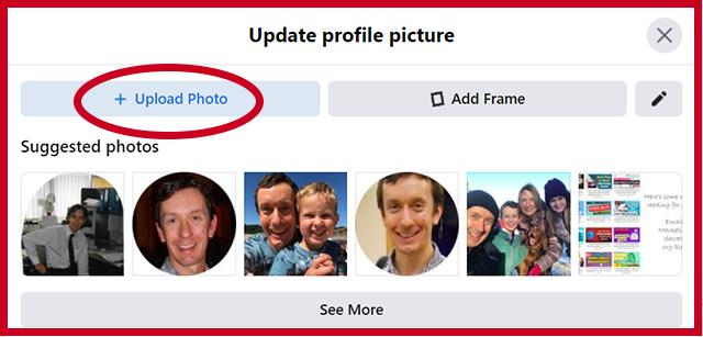 Update Facebook Profile Photo