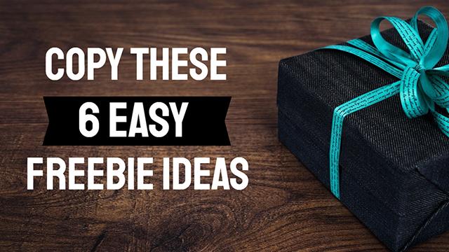 Digital Freebie Ideas